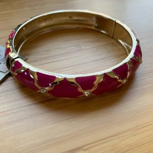 Nordstrom Jewelry - New Nordstrom sequin brand pink gold bangle